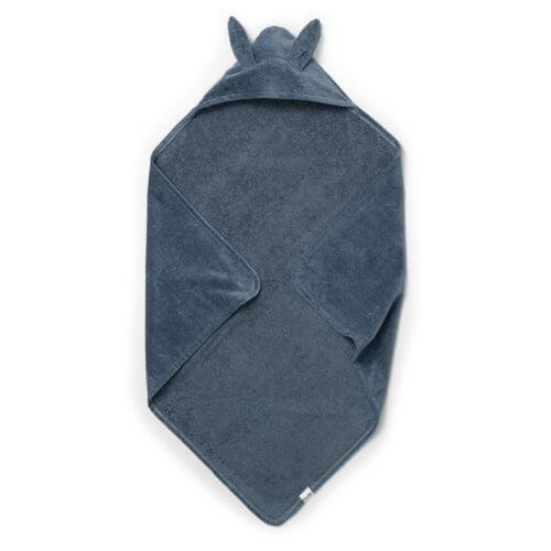 Elodie полотенце с капюшоном Tender blue bunny
