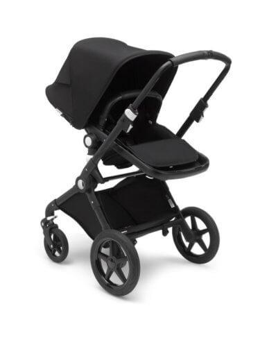Bugaboo Fox2 коляска 2 в 1 Black/ Black/ Black