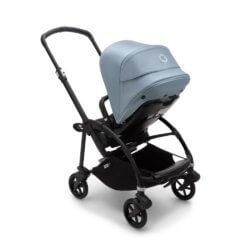 Bugaboo Bee6 коляска прогулочная Black/Black/Vapor Blue
