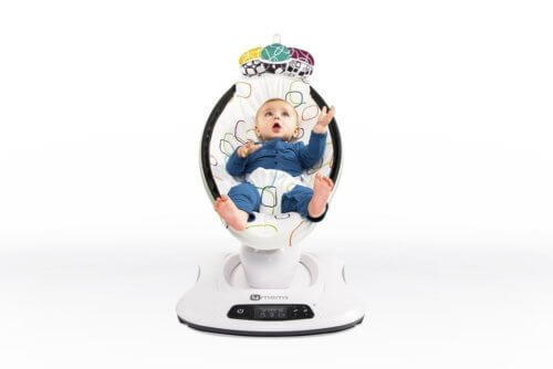 4moms MamaRoo 4.0 кресло-качалка мультиплюш