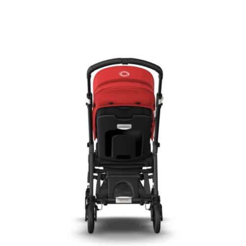 Bugaboo Bee6 коляска прогулочная Black/Black/Red