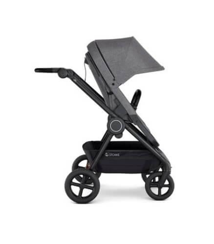 Stokke® Beat коляска прогулочная Black Melange