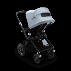 Bugaboo Fox2 коляска 2 в 1 Black/ Black/ Vapor Blue complete