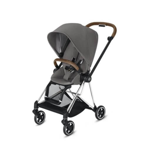 Cybex коляска прогулочная Mios Chrome Manhattan Grey