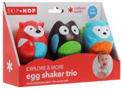 Skip Hop Развивающая игрушка-погремушка Трио