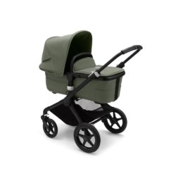 Bugaboo Fox3 коляска 2 в 1 Black/ Forest Green/ Forest Green complete