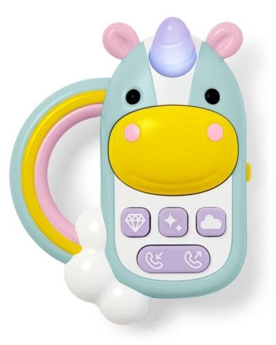 SkipHop Развивающая игрушка «Телефон-единорог»муз.