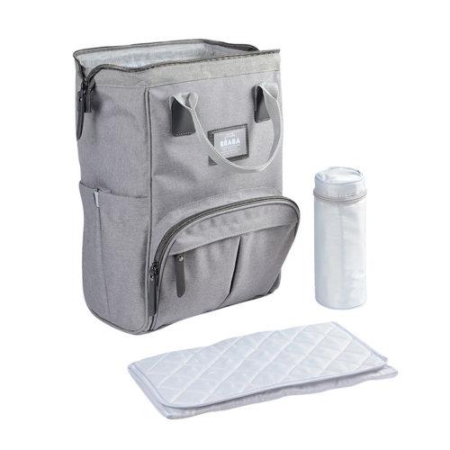 Beaba Рюкзак-сумка для мамы Sac Wellington Heather