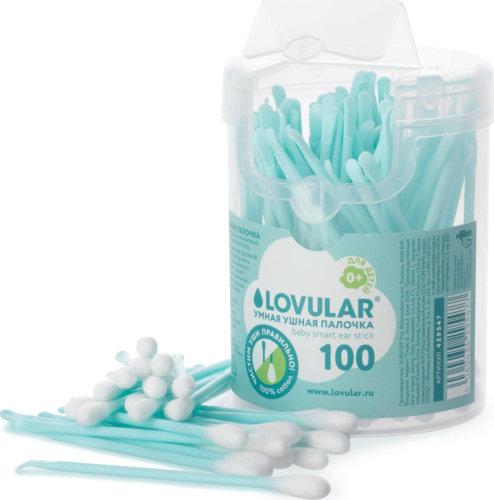Lovular Набор для гигиены, умная ушная палочка, 100 шт