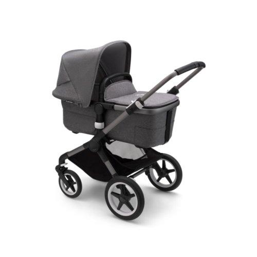 Bugaboo Fox3 коляска 2 в 1 Graphite/ Grey Melange/ Grey Melange