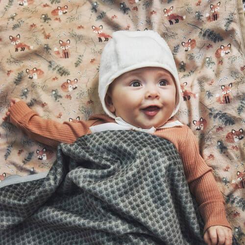 Elodie плед-одеяло Velvet — Turquoise Nouveau