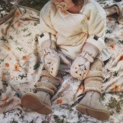 Elodie плед-одеяло Velvet — Meadow Blossom