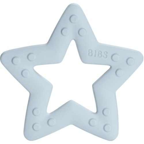BIBS прорезыватель Star Baby Blue