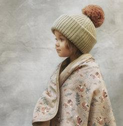 Elodie плед-одеяло Velvet — Nordic Woodland
